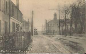 1903 Tram Terminus at Stonefield