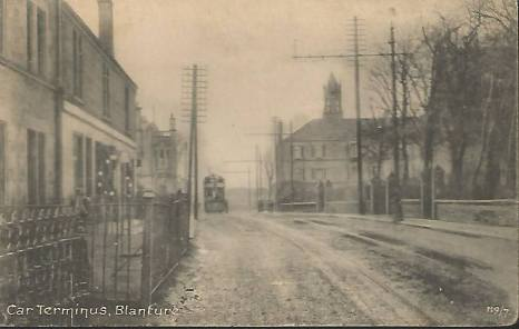 1903 Tram Terminus at Stonefield shared by Jim Cochrane