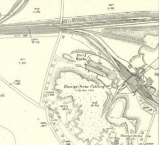 1946 Blantyreferme Brickworks
