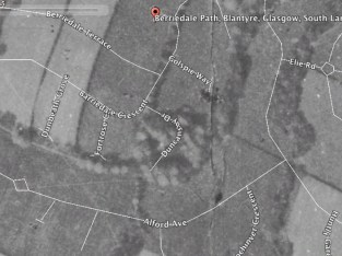 1945 Aerial Pic showing Park House