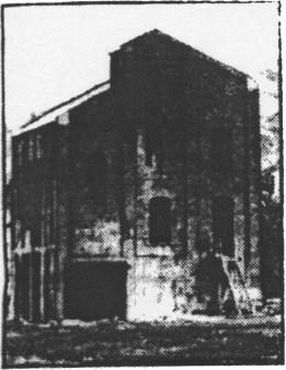 1958 Dixons Wash House, red brick bulding