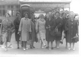 1960 St Joseph's Blantyre women's guild at Blackpool