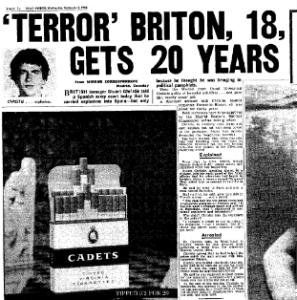 1964 Mirror story re Stuart