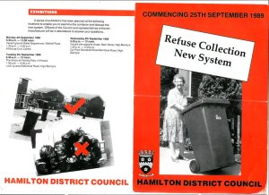 1989 Refuse collection starts in Blantyre