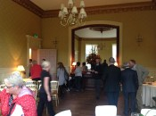 2014 29th October inside the first renovated room at Crossbasket Castle