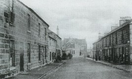 Stonefield Road Blantyre 1906