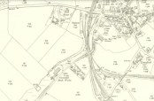 1910 Map showing Greenhall Brickworks at Craigmuir
