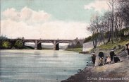 1910 Clyde Bridge, Uddingston (PV)