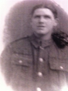 1917 Robert Hastie in WW1 uniform