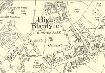 1936 Broompark Road Map