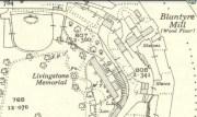 1936 Livingstone Memorial map