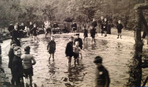 1936 Pond at David Livingstone Centre, after opening
