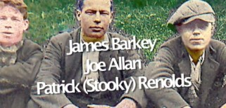 1950s James Barkey, Joe Allan and Stooky at Caldervale