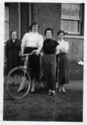1953 Reynolds at back of 64 Farm Road, shared by Stephen Gallagher