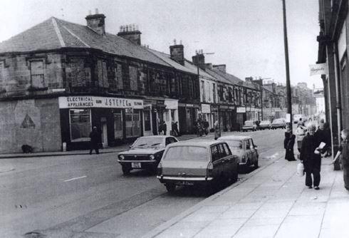1975 Stepek at Glasgow Road