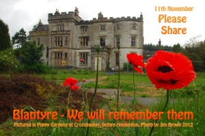 2012 Poppies at Crossbaket. Photo by Jim Brown.