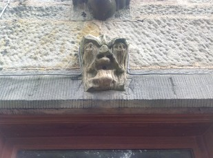 2012 May Croftfoot Gargoyle, High Blantyre (PV)