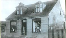 1934 Mary Danskin at Danskins shop (PV)
