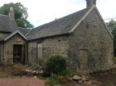2013 August. Croftfoot Studio dated 1730. Pre renovation (PV)
