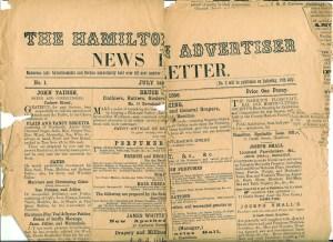 1856 Hamilton Advertiser