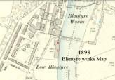 1898 Blantyre Works Map