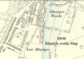 1898 Blantyre Works Map