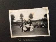 1953 Mary Pearson, Sarah Cook, Linda, Ann & Jayne at Public Park shared by L Mackie