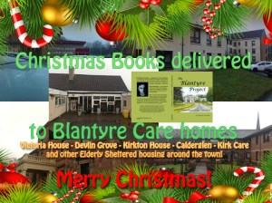 2014 Blantyre Project books delivered to care homes