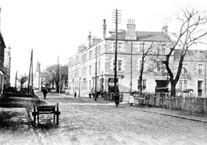 1900 Joanna Terrace from Glasgow Road looking West