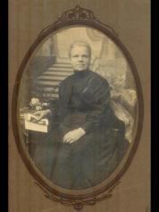 1929 Margaret Potter (Wilson) of Auchentibber shared by Lisa Potter