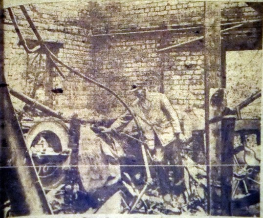 1950 Flour mill fire shared by G Cook