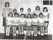 1967 High Blantyre Netball Team. Shared by Jim Cochrane