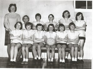 1967 High Blantyre Netball Team. Shared by Jim Cochrane