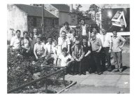1980s The guys at Red Lion Pub