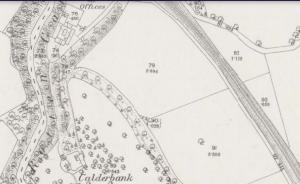 1859 Calderbank Estate map