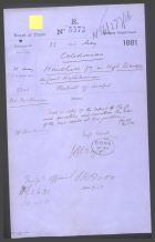 1881 Caldeonian Approval