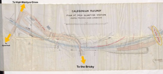 1897 Railway Siding, High Blantyre