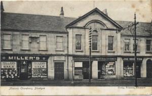 Masonic Hall at Glasgow Road