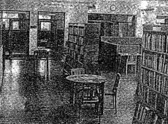 1955 Calder Street Library Interior