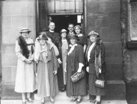 1930s Annie S. Swan at Blantyre