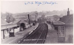 1930s High Blantyre Station