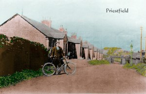 1930s Priestfield Terrace Postcard