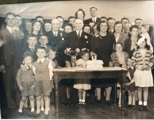 1947 Morrison Wedding Anniversary from Betty McLean