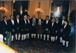 1998 Alex McLean is honoured in Canada. Shared by Betty McLean