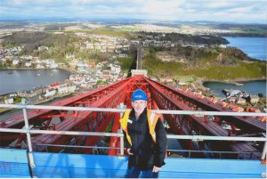 2015 Alex on the Forth Rail Bridge