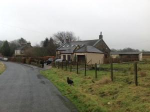 2015 January Auchentibber School. (PV)
