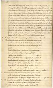 James Millars Inventory 1838 Part 4 of 5