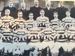 1920s James Kelly in back row whilst President of Celtic Football club