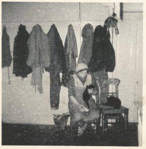 1968 Annie Marshall at Calderside. Shared by J Cochrane