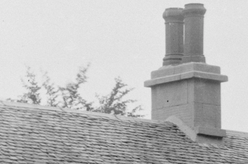 1908 Auchentibber Inn Chimney's renovated